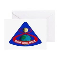 Apollo 8 Greeting Cards (Pk of 10)