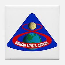Apollo 8 Tile Coaster