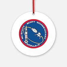 Apollo 9 Ornament (Round)