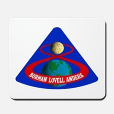 Apollo 8 Mousepad