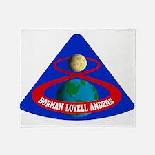 Apollo 8 Throw Blanket