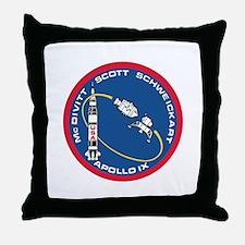 Apollo 9 Throw Pillow
