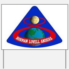 Apollo 8 Yard Sign