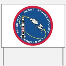 Apollo 9 Yard Sign