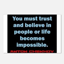 You Must Trust And Believe - Chekhov Postcards (Pa
