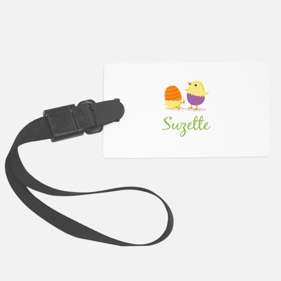Easter Chick Suzette Luggage Tag