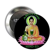 """Absinthe Minded"" button"