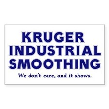 Kruger Industrial Smoothing Rectangle Decal