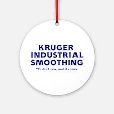 Kruger Festivus Pole Ornament (Round)
