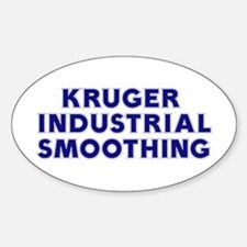 Kruger Industrial Smoothing Oval Decal