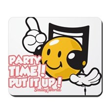 Party Time Smiley Mousepad