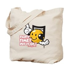 Party Time Smiley Tote Bag