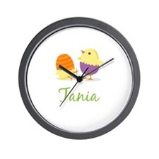 Easter Chick Tania Wall Clock