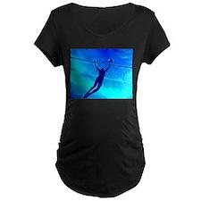 VOLLEYBALL BLUE T-Shirt
