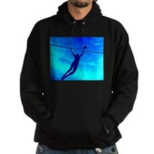 VOLLEYBALL BLUE Hoodie