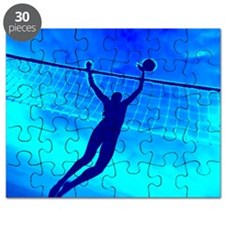 VOLLEYBALL BLUE Puzzle