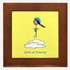 Babies are Blessings Framed Tile