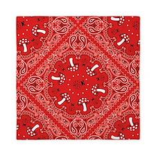 red bandana Queen Duvet