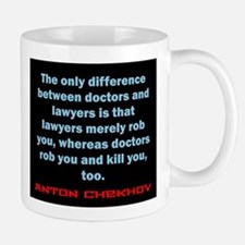 The Only Difference - Anton Chekhov Mug