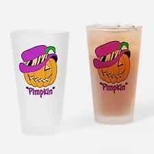 Pimpkin. Drinking Glass