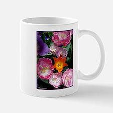 Tulips! Colorful spring flower photo! Mug