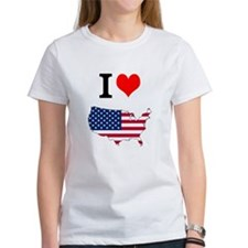 I love USA T-Shirt
