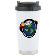 Apollo 7 Mission Patch Travel Mug