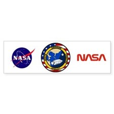 Apollo 1 Mission Patch Bumper Sticker