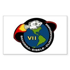Apollo 7 Mission Patch Decal