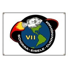 Apollo 7 Mission Patch Banner