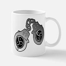 Metal Handcuffs and BDSM Symbol Mug