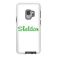 Sheldon Blue Robot iPhone 5 Case
