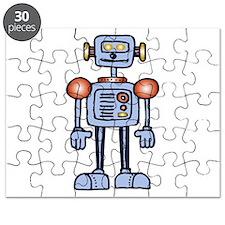 Sheldon Blue Robot Puzzle