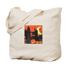 Halloween in London Tote Bag