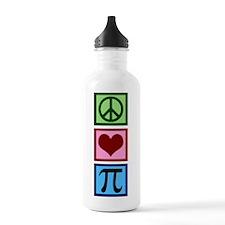 Peace Love Pi Water Bottle
