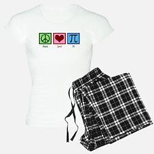 Peace Love Pi Pajamas