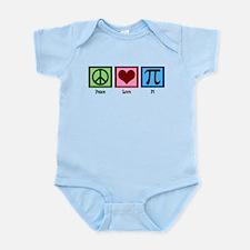 Peace Love Pi Infant Bodysuit