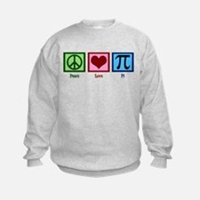 Peace Love Pi Sweatshirt