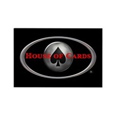 House of Cards logo Rectangle Magnet