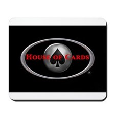 House of Cards logo Mousepad