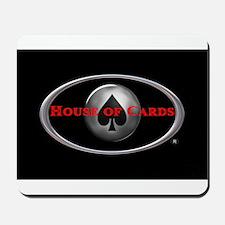 House of Cards logo Mousepad