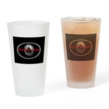 House of Cards logo Drinking Glass