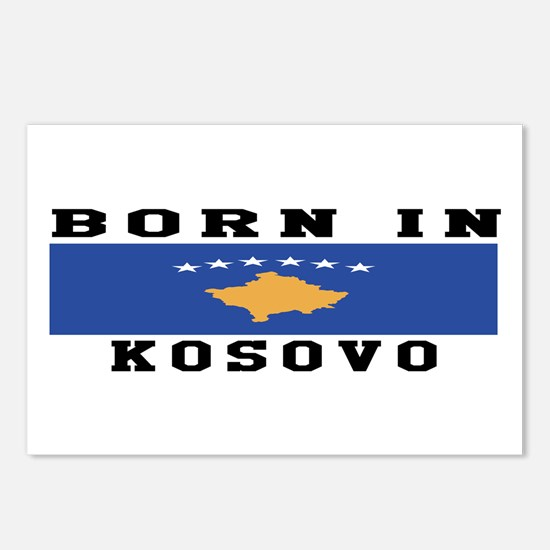 Born In Kosova Postcards (Package of 8)