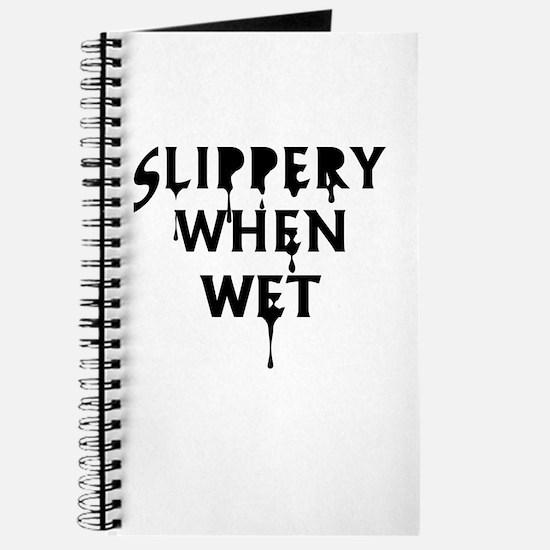 Slippery When Wet Journal