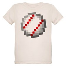 Minecraft Inspired Baseball T-Shirt