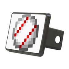 Minecraft Inspired Baseball Hitch Cover
