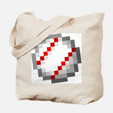 Minecraft Inspired Baseball Tote Bag