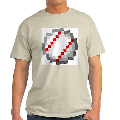 Minecraft Inspired Baseball Light T-Shirt