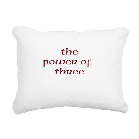 charmed Rectangular Canvas Pillow
