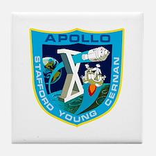 Apollo 10 Tile Coaster